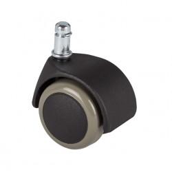 Kółko do powierzchni twardych, nie rysuje podłogi (średnica rolki 50mm, średnica trzpienia 11mm) - KPT5011