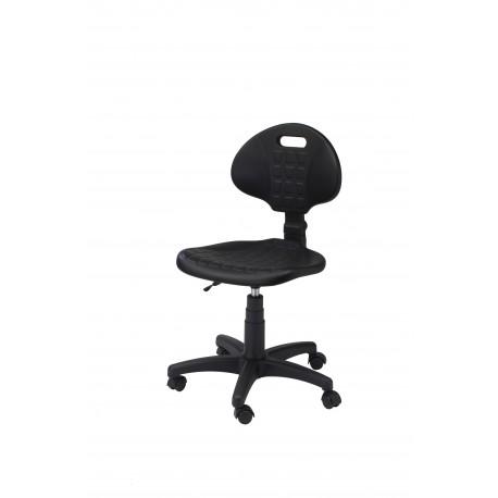 Krzesło obrotowe laboratoryjne - poliuretanowe - KPU01-A1