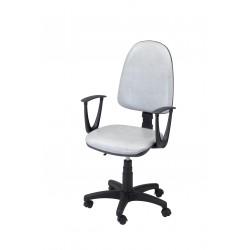 Krzesło obrotowe laboratoryjno-biurowe - tapicerowane - zmywalne - KTS01p-A1