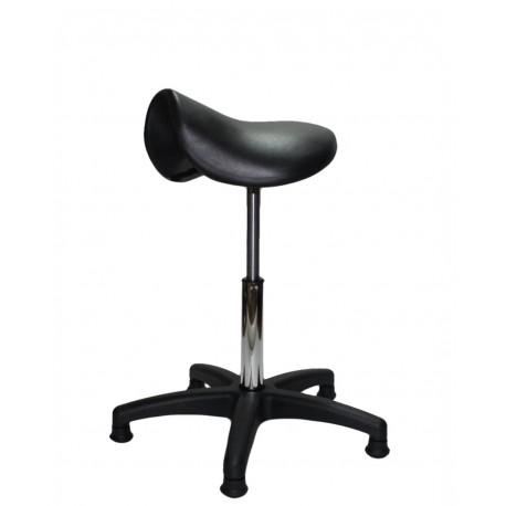 Hoker laboratoryjny siodło - SPU02-A6 - ergonomiczne siedzisko