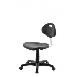 Krzesło obrotowe laboratoryjne - poliuretanowe - KPU01w-A1