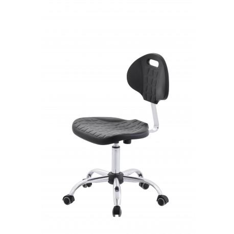 Krzesło obrotowe laboratoryjne - poliuretanowe - KPU01w-C1