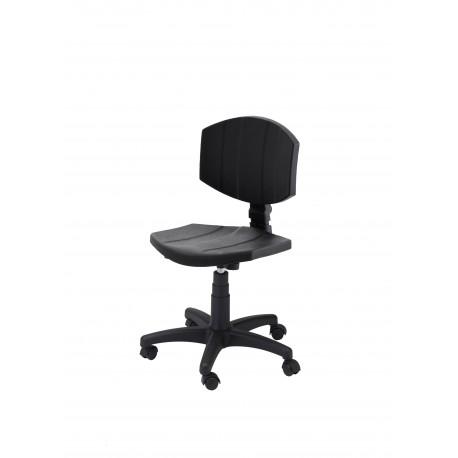 Obrotowe krzesło laboratoryjne - poliuretanowe - KPU04-A1